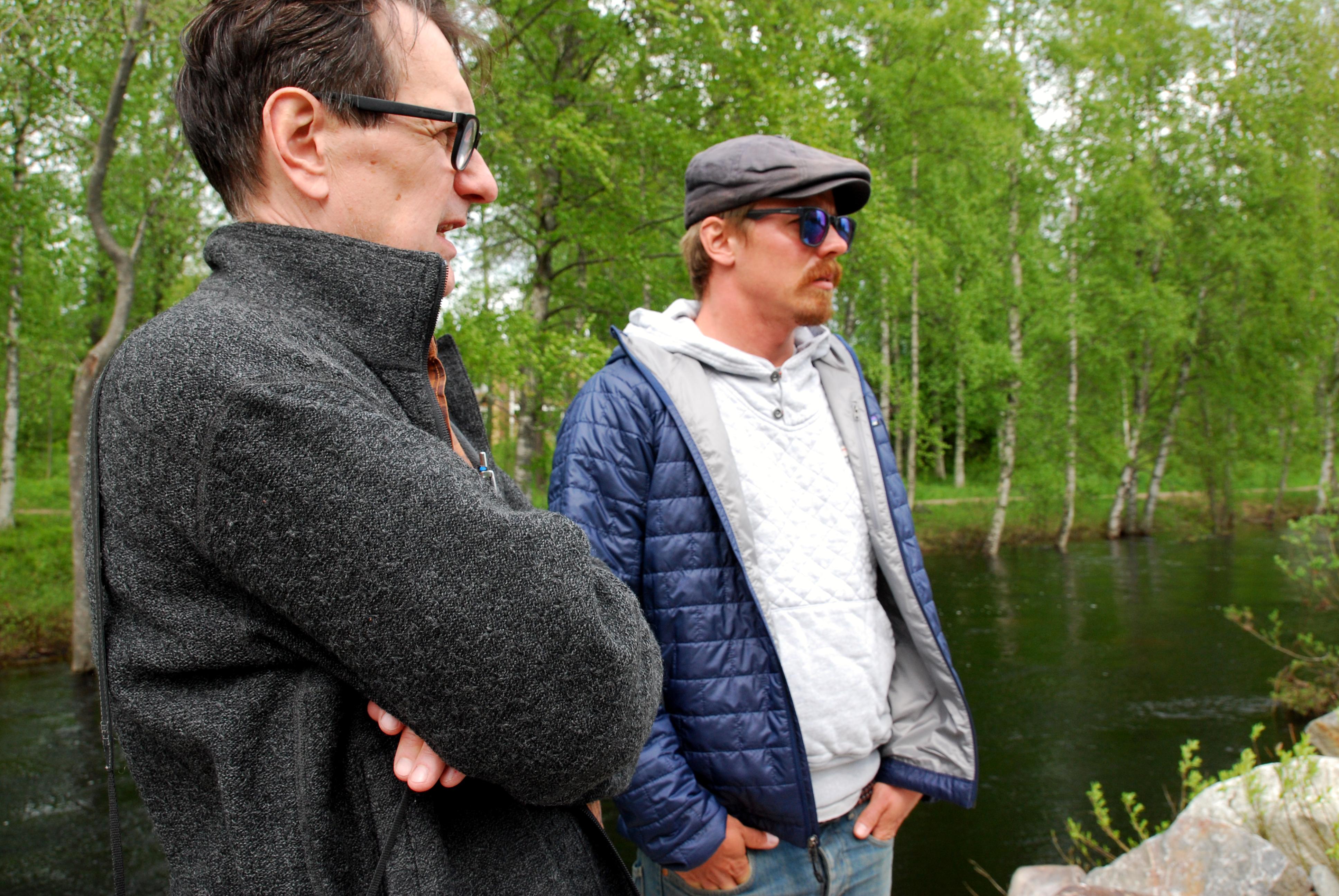 Jasper Pääkkönen ja Simo Yli-Lonttinen