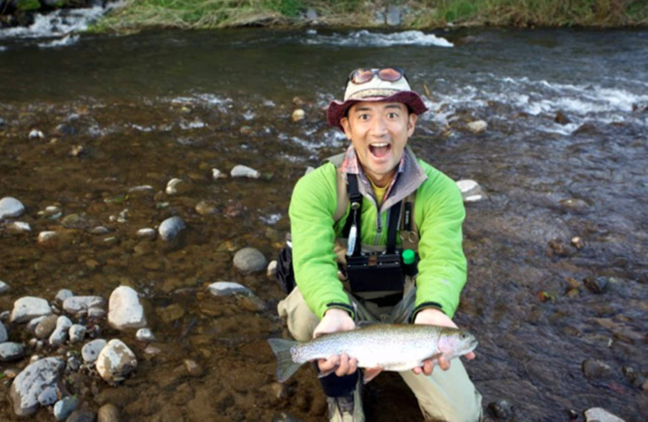 The most interesting point in fly fishing is difficulty