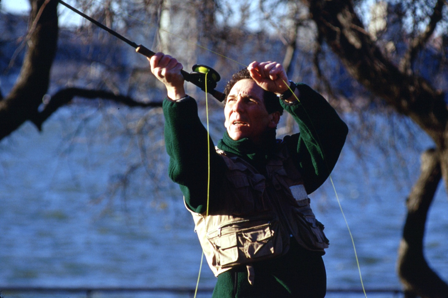 On my first day out fly fishing, I thought I committed a grave angling etiquette crime