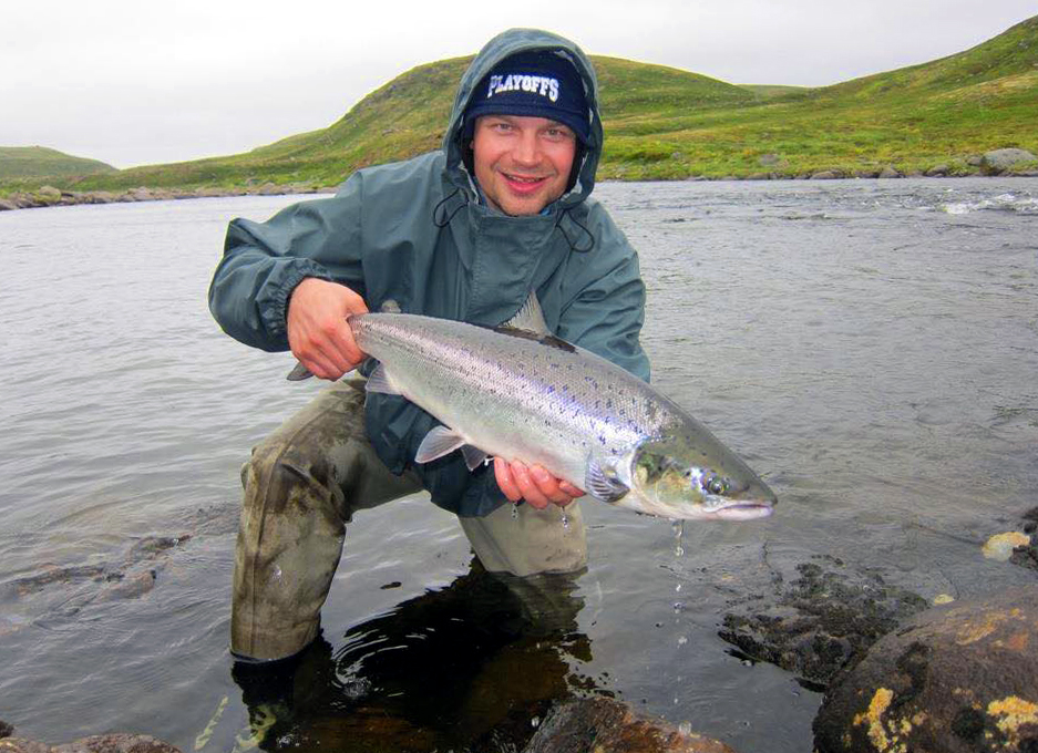 Ice Hockey World Champion learns to be better fly fisherman with mental training