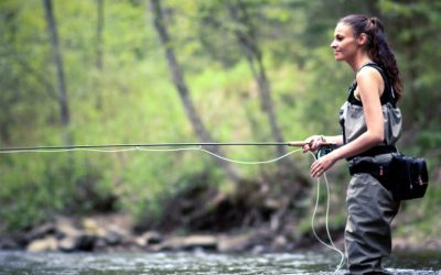 A Date with a Fly Fisherman Lead Mari to Eventually Start Her Own Guiding Business and Star on a Fishing TV-show