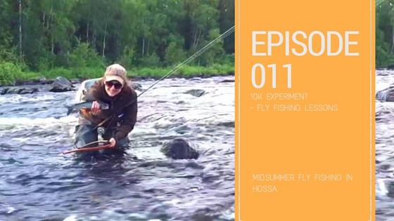Fly Fishing in Hossa