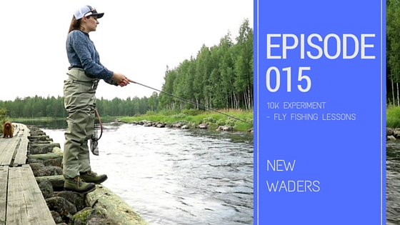 Flyfishing New waders