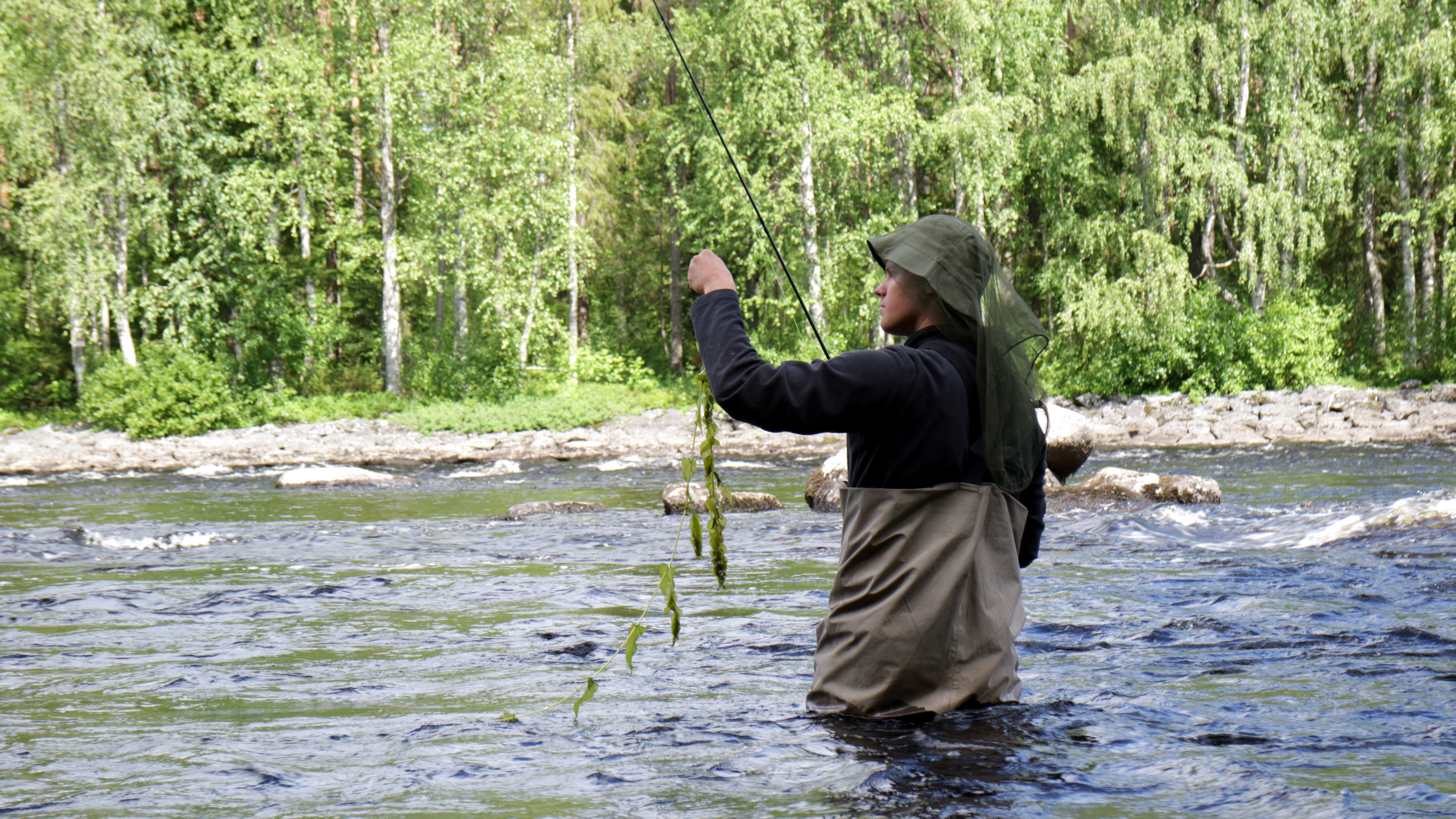 Move around while fly fish for Fly fishing spots near me