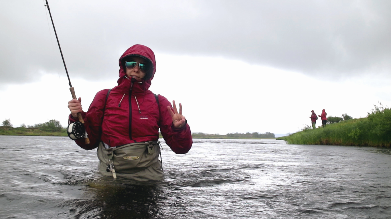 is it good to fish in the rain