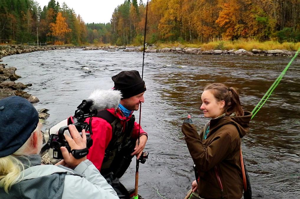 Wędkarstwo muchowe Fishing in Finlandia