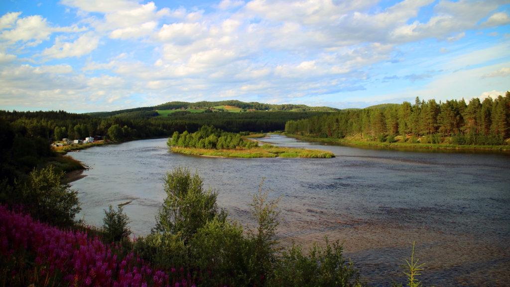 kvennan glomma river
