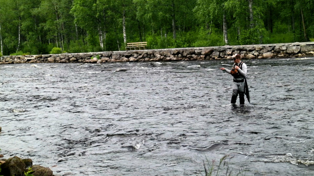 Heikki Kurtti fly fishing championships finland 2020
