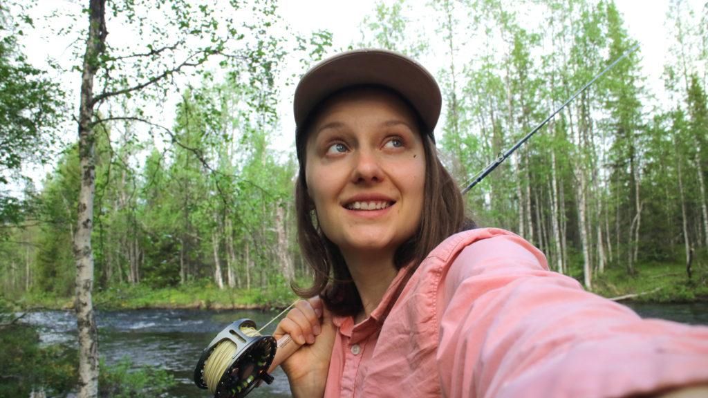 grayling fishing Korvuajoki